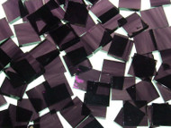 Violet & Purple Waterglass Stained Glass Mosaic Tiles