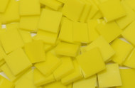 Bulk Discount - Lemon Yellow Opal System 96 Stained T-Glass Mosaic Tiles