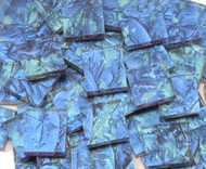 Bulk Discount - Blue & Bluegreen Van Gogh Stained Glass Mosaic Tiles
