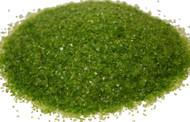 4 oz Moss Green 96 COE Glass Frit, Size:  Medium