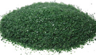 4 oz Dark Green Opal 96 COE Glass Frit, Size:  Medium