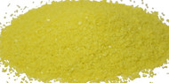4 oz Yellow Opal 96 COE Glass Frit, Size:  Medium