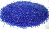 4 oz Dark Blue 96 COE Glass Frit, Size:  Medium