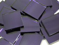 Bulk Discount - Ultra Violet (Purple) Waterglass Mirror Stained Glass Mosaic Tiles