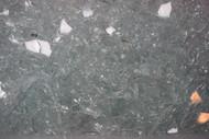 1 lb Clear Mosaic Crash Glass Scrap Pieces