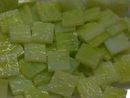 Bulk Discount - Chartreuse Green Granite Stained Glass Mosaic Tiles