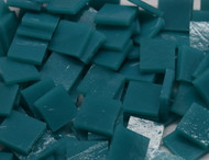 Bulk Discount - Dark Turquoise Opal Stained Glass Mosaic Tiles