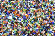 HUGE DISCOUNT:  1,000 grams (1 Kilo, 2.2 lbs) Toho Seed Beads Mix 11/0 (approx 110,000 beads)