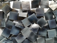 Bulk Discount - Mottled Gray Stained Glass Mosaic Tiles