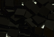 Black Opal Waterglass Stained Glass Mosaic Tiles