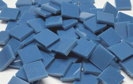 Bulk Discount ~ Slate Blue Opal Stained Glass Mosaic Tiles