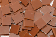 Chestnut Brown Opal System 96 Stained Glass Mosaic Tiles
