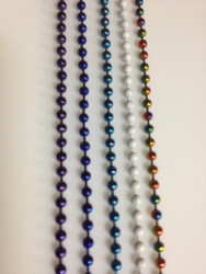 #6 White Ball Chain - You Pick the Length (ft) (ORDER 10+ FT FOR AN AUTOMATIC 10% DISCOUNT)