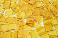 Yellow Cathedral Stained Glass Mosaic Tiles