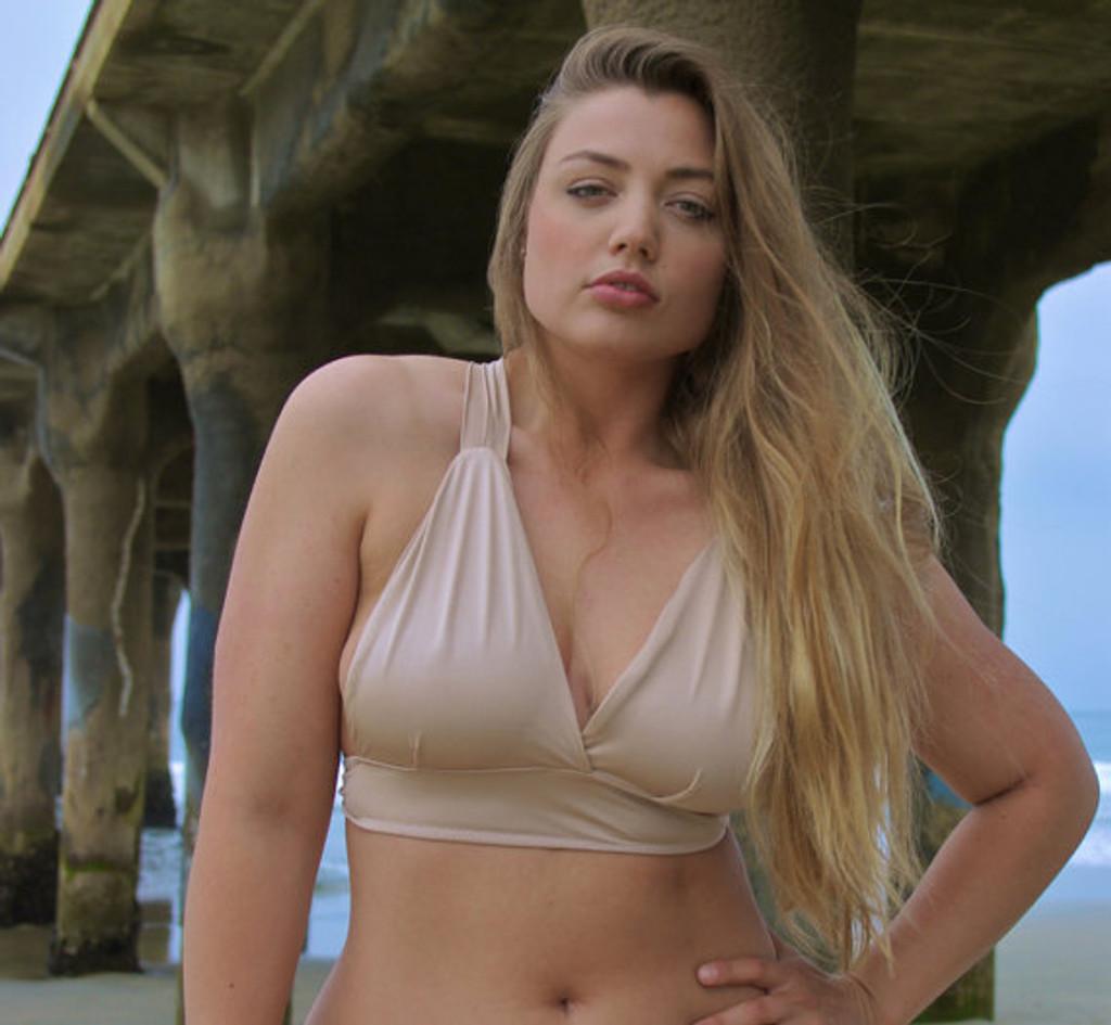 Chun's Halter Bikini Criss Cross Surfer Top Customize Size & Choose from 50+ Fabric