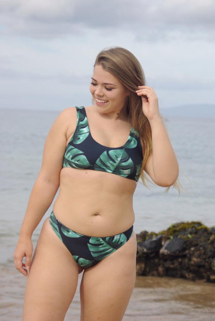 PAHALA Reversible Sports Bra Swimsuit Bikini Top Customize Size & Choose from 50+ Fabrics