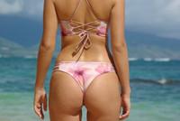 A Luluka  Reversible Cheeeky  Bikini Bottoms* Customize Size & Choose from 50+ Fabrics