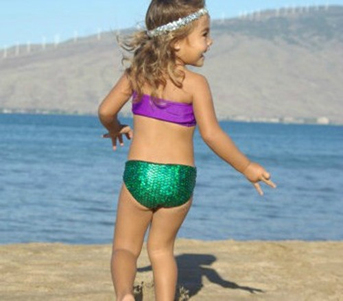 Aquata Reversible Baby Bikini Bottom Customize Size & Choose from 50+ Fabrics