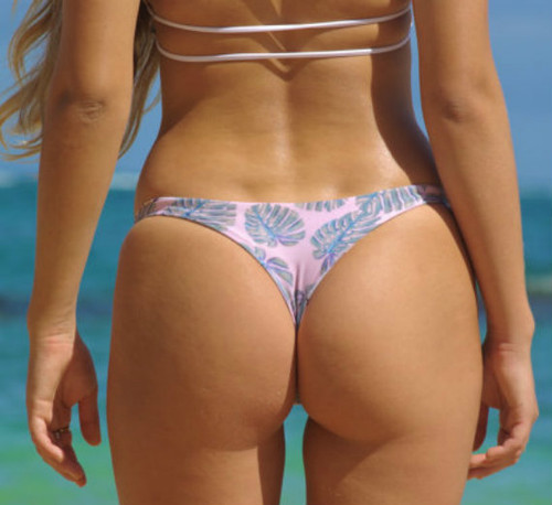 Banzai Reversible Brazilian Thong Bikini Bottoms Customize Size & Choose from 50+ Fabrics