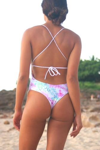 Cali Reversible high cut ONE PIECE  bathing suit Customize Size & Choose from 50+ Fabrics9