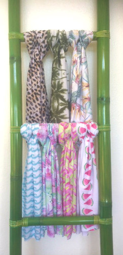 Sarongs To Match Peace of Paradise Creations Swimwear