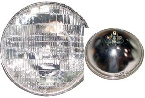 356, Sealed Headlight Beam, Wagner, 6v, All 356's