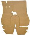 Carpet Set Suppliment, W/Out Mat, 911 '65-'66