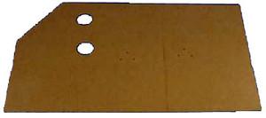 Door Panel Board, All 356, Die Cut Waxboard