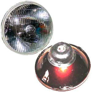 Headlamp Beam, H4 Halogen,356B/C, 911, 912, 914, '65-'76