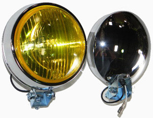 Porsche 356,911,912 Fog/Driving Light, Amber/Clear Lens