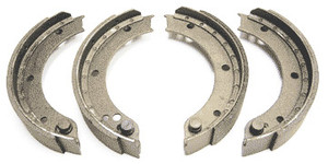 Porsche 356C Brake Shoes, Set, Relined