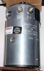 Porsche 912 Generator; Bosch; New; 12v; 912 '68-'69