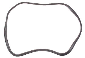 Porsche Back Glass Seal w/ Trim Frame Groove, OEM, 911 & 912