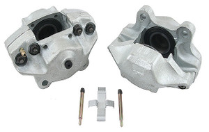 Porsche Disc Brake Caliper, Front Left, Remanufactured, ATE, Solid Rotors, M Series