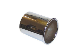 Porsche Exhaust Tip,Chrome,Dansk Quality 911 '65-'73, 912 '65-'69, 914 '70-'76