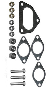 Porsche Heater Exchanger Mounting Kit, With Gaskets, Screws & Bolts, 911 '75-'83