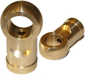 Porsche Ring Fitting, Banjo Bolt, Brass, 356, 911, 912, 914
