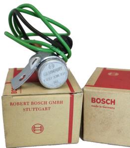 914 Condenser,Bosch,NOS German,Porsche 914 '70-'76
