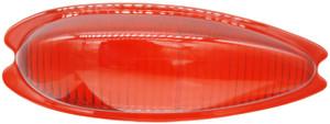 Tail Light Lens,Teardrop Red,Left,356A,356B,356C