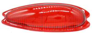 Tail Light Lens,Teardrop Red,Right,356A,356B,356C