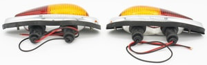 Tail Light Assembly Set,Euro,Amber/Red,Set,All 356