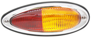 Tail Light Teardrop Assembly,U.S.,Amber/Red,Left,All 356