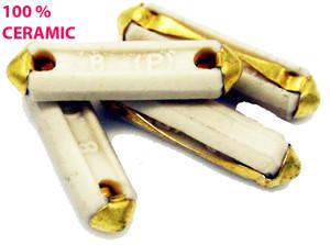 Ceramic Fuse, 8 Amp, German Made, Porsche 356, 911, 912, 914