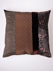 Chocolate Honeycomb Cushion