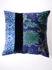 Indigo Chinois Cushion