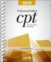 The official Current Procedural Terminology 2015 (CPT 2015) Coding book published by the American Medical Association (Professional - spiral bound)