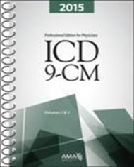 Physician practices desiring to stay current on diagnostic coding, compliance and reimbursement information should have the AMA's ICD-9-CM 2015 Professional Edition for Physicians, Volumes 1 and 2 book in their office.