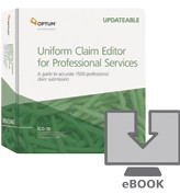 Physician and non-physician practitioner practices can use this reference tool every day to keep track of the ongoing changes to the Medicare billing and reimbursement process.  The Uniform Claim Editor for Professional Services provides detailed, accurate and timely information about CMS1500 billing issues.