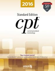 CPT 2016 Standard Edition Softbound Book - Only the AMA, with the help of physicians and other experts in the health care community, creates and maintains the CPT code set.