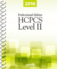 Organized for quick and accurate coding, the AMA's HCPCS Level II 2016 Professional Edition (Spiral) codebook includes the most current Healthcare Common Procedure Coding System codes and regulations, which are essential references needed for accurate medical billing and maximum reimbursement.